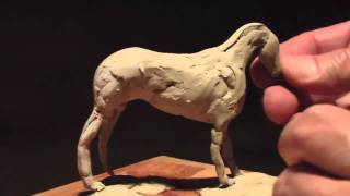 My 2nd Horse Sculpt part-1