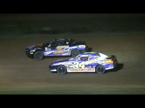 Mini Stock Feature | McKean County Raceway | 6-30-16