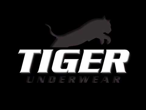 Tiger Underwear Photo Shoot Spring 2018