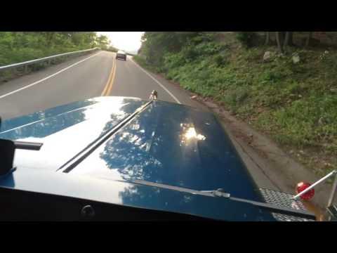Detriot Diesel 12V71 Brockway over Bear Mtn