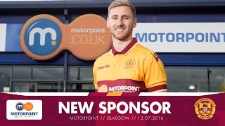 Motorpoint announced as new principal sponsor