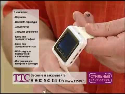 Видео обзор Часы мобильный телефон с камерой - Купить в Украине .