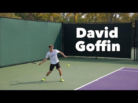 David Goffin Tennis Practice Session by TennisAcademy101