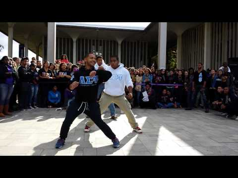 Lambda Sigma Upsilon Latino Fraternity Inc. UA Block Party 2013
