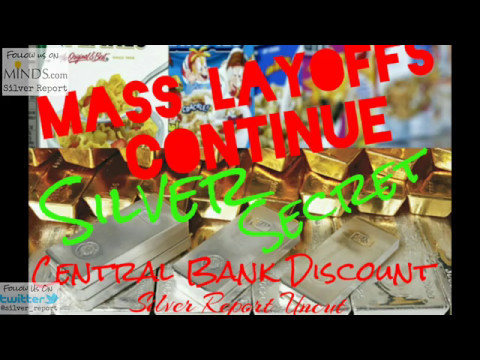Mass Layoffs Continue Economic Collapse! Secret Silver Price Discount For Central Banks!
