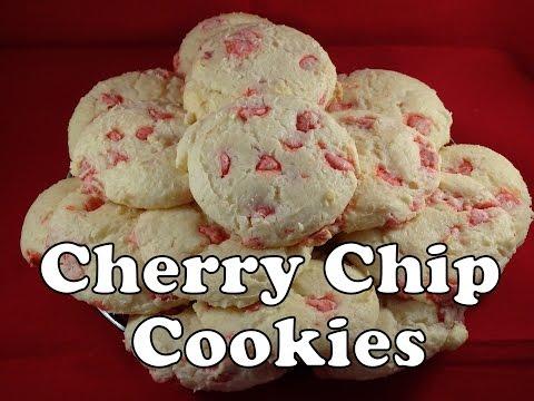 Cherry Chip Cream Cheese Cake Mix Cookies - With Yoyomax12