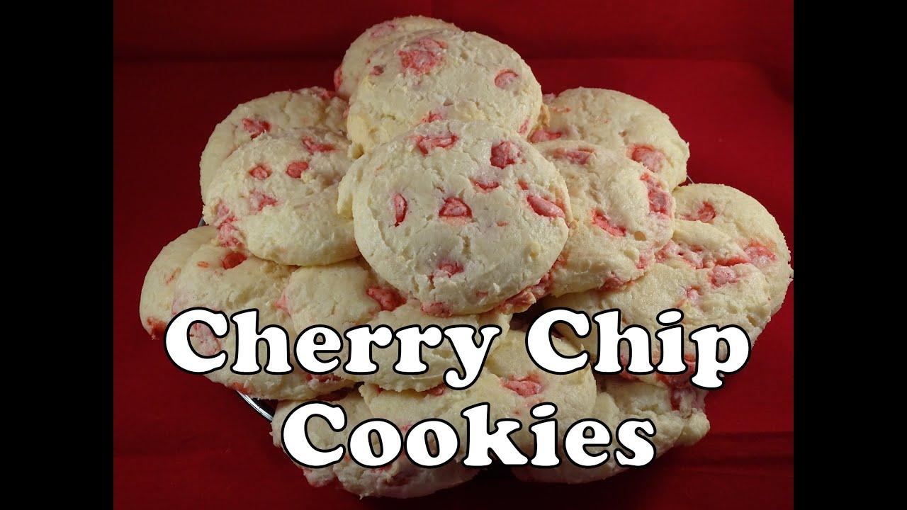 Cherry Chip Cake Mix Cookies Cream Cheese
