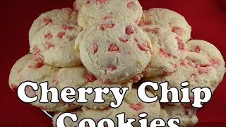 Cherry Chip Cream Cheese Cake Mix Cookies - With Yoyomax12