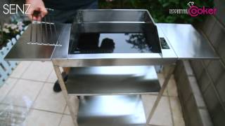 Senz Teppanyaki & Bbq Electric Cooker Detachable Stainless Steel Table Version 2.0