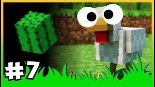 Kaktüs Yumurtlayan Tavuk mu O_O, Tavuklarla Sınırsız Demir Peşinde - ÇiftçiCraft S2  - #7