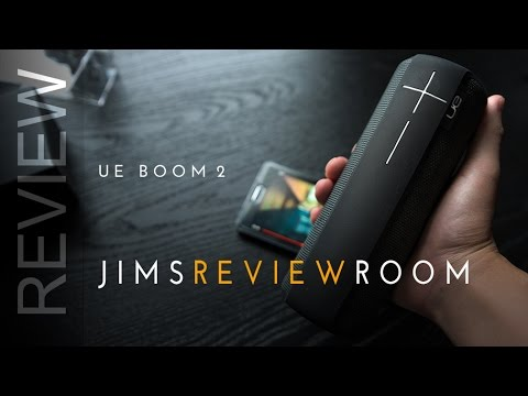 Ue boom 2 bluetooth speaker review youtube for Housse ultimate ears boom 2
