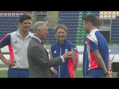 Charles meets England and Australian cricket teams ahead of Ashes