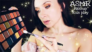 ASMR Doing your makeup Role play