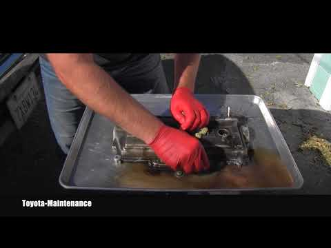 Toyota How to clean Engine Valve Covers