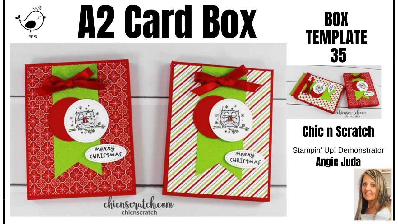 A21 Card Box Regarding A2 Card Template