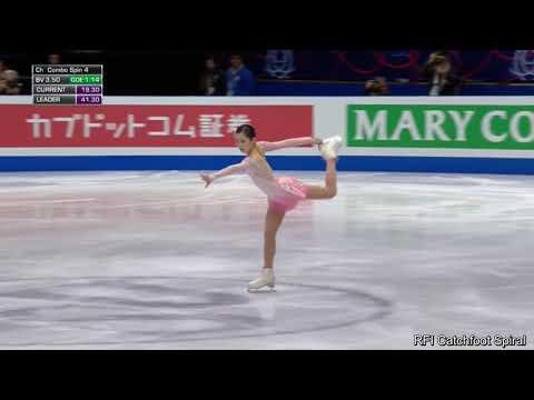 Satoko Miyahara Worlds SP 2018