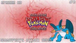 "Roblox Project Pokemon Nuzlocke Challenge - #22 ""Swampert's Attack Done!"" - Commentary"