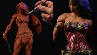 Sculpting Wonder Woman | DC Comics (Timelapse)