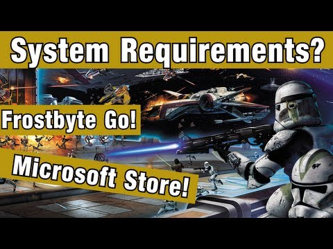 Battlefront News : BF on MS Store! BF Requirements? Frostbite Go Mobile Engine