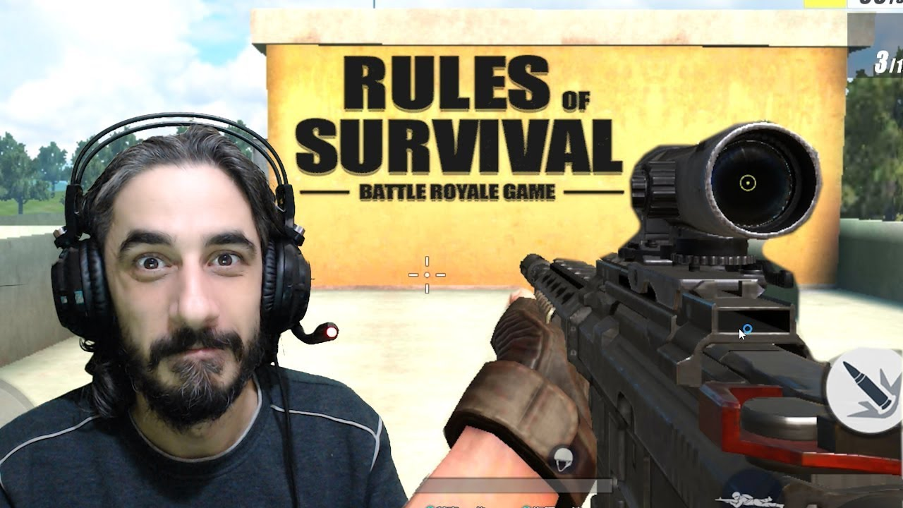 FPS MODU İNCELEME - RULES OF SURVIVAL