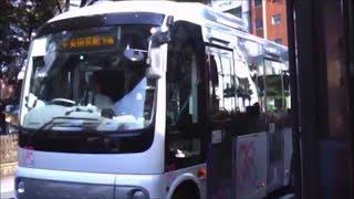 【前面展望】北区コミュニティバス Kバス JR王子駅~印刷局東京病院