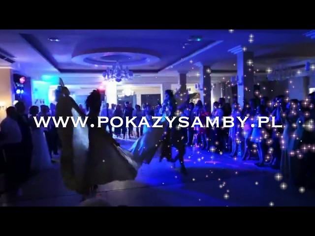 Pokaz samby na weselu 100% Samba Show