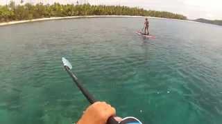 2015-11-08 SUP - Blue Lagoon, Fiji