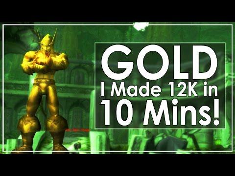 WoW Legion - A New Gold Making Method