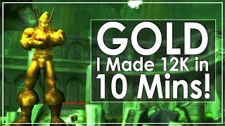 WoW Pre - Legion Gold Making Guide.  Items to Farm and obtain before Legion 7.0