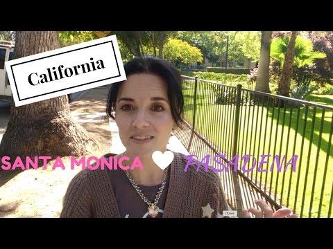 Vlog Santa Monica, Pasadena - Zivot u Americi