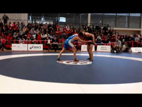 2015 Senior National Championships: 86 kg Will Grieve vs. Tamerlan Tagziev