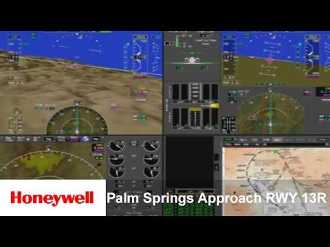 Honeywell Aerospace - Business Aviation - Palm Springs Approach RWY 13R | Training | Honeywell