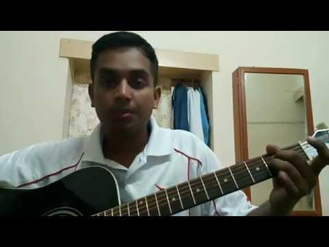 Manasuna edo raagam Guitar lesson