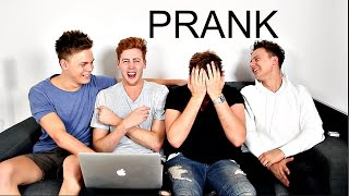 FIRST YOUTUBE VIDEO! PRANK!