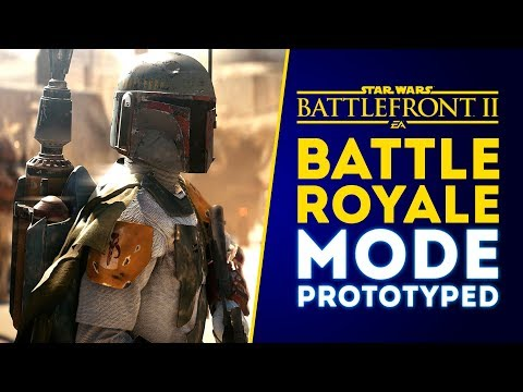 Battle Royale Mode Prototyped! NEW DETAILS and UPDATE! - Star Wars Battlefront 2 thumbnail