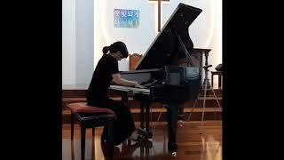 박경미 메오드 피아노 찬양 - 주 하나님 지으신 모든세계(2020.10월)