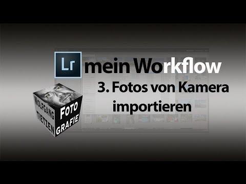 Lightroom Basics - Fotos von Kamera importieren