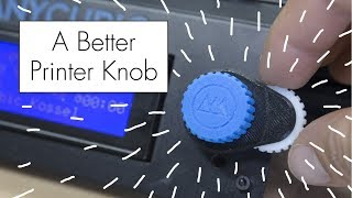 Designing A Better Knob For My 3D Printer ( In Fusion 360 )