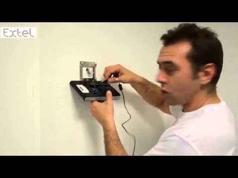 installation interphone vid o extel lena 11 3 youtube. Black Bedroom Furniture Sets. Home Design Ideas