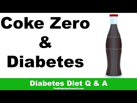Is Coke Zero Good For Diabetes