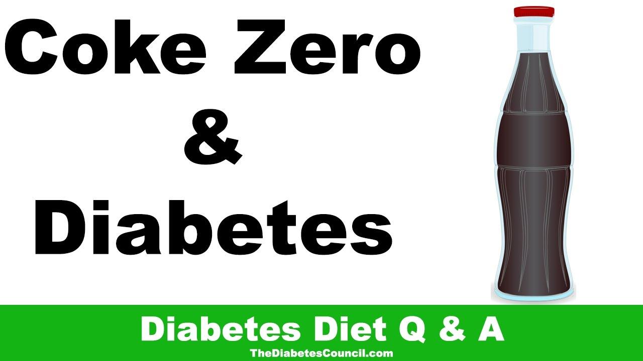 Wie gesund ist Cola Light und Cola Zero für Diabetiker?