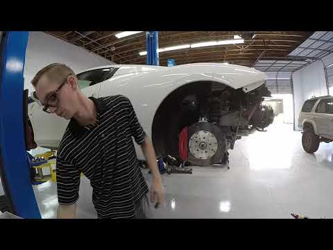 Ferrari 458 Italia H&R Lowering Springs Install