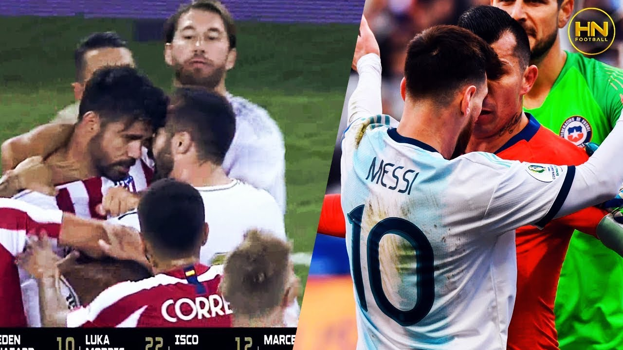 Crazy Football Fights Angry Moments 2019 9