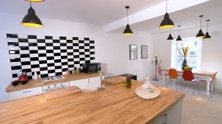 From butchers shop to homely kitchen - The 100k House: Tricks of the Trade -  Series 2 - BBC Two