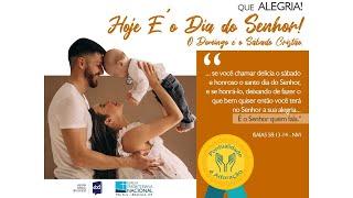 CULTOS DOMÉSTICOS IPN ONLINE (ALEGRAI-VOS – Fp. 4.10-13 – Lic. Davi Medeiros) - 09/08/2020