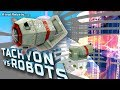 Tachyon & Fat Nukes vs Robots #4 in Minecraft mod