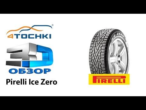 3D-обзор шины Pirelli Ice Zero