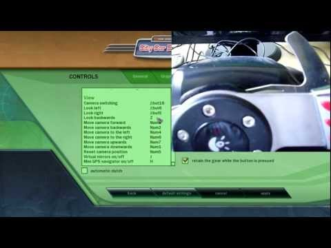 59f423c4054 How to correctly setup City Car Driving 1.4 Logitech G27, Force Feedback  Steering Wheel, tutorial. - YouTube