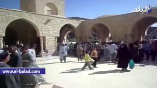 بالفيديو.. ربع مليون صوفى يحتفلون بمولد أبو الحسن الشاذلى في مرسى علم