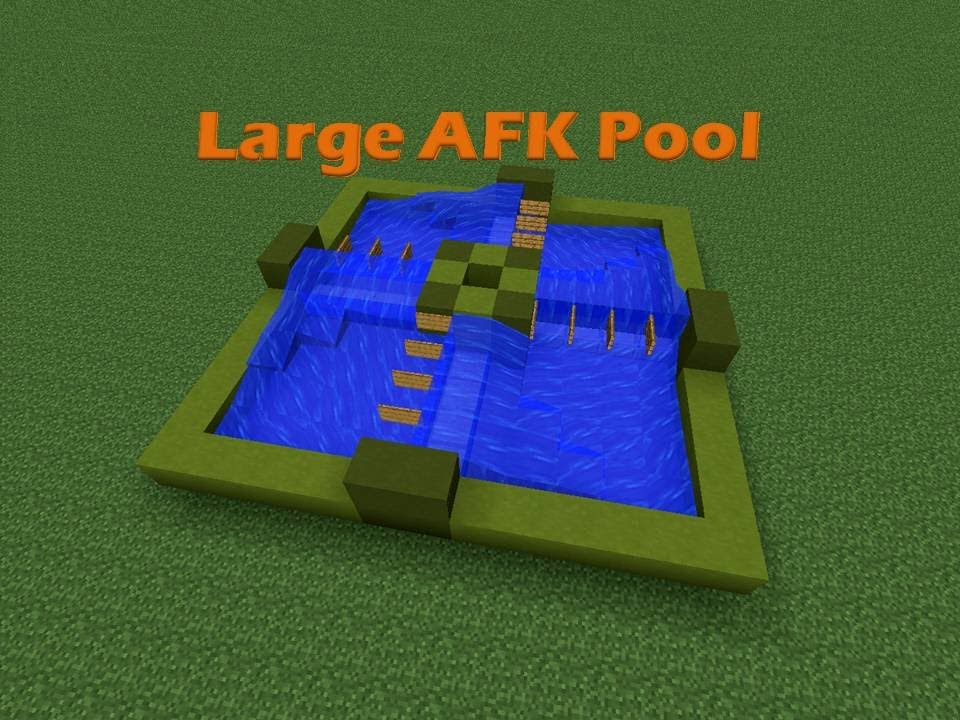 Large afk pool let 39 s build youtube for Build my pool